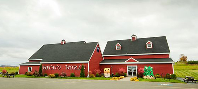 Potato World Museum. Florenceville-Bristol